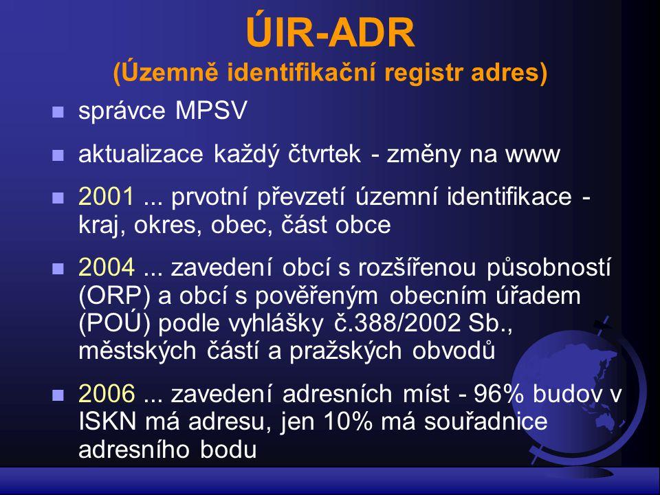 ÚIR-ADR (Územně identifikační registr adres)