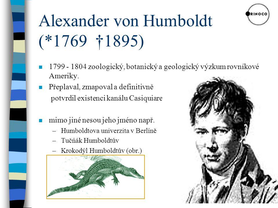 Alexander von Humboldt (*1769 †1895)