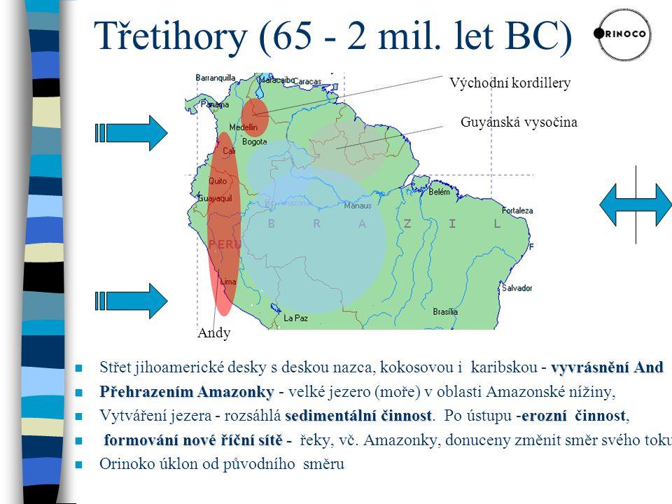 Třetihory (65 - 2 mil. let BC)