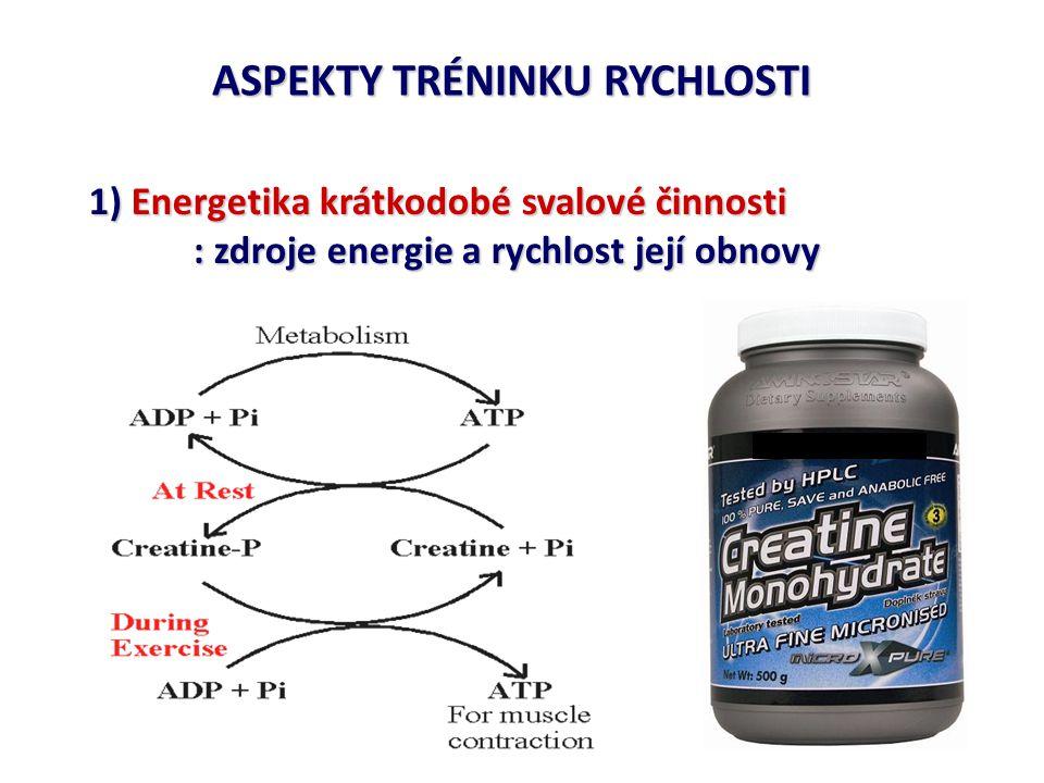 ASPEKTY TRÉNINKU RYCHLOSTI