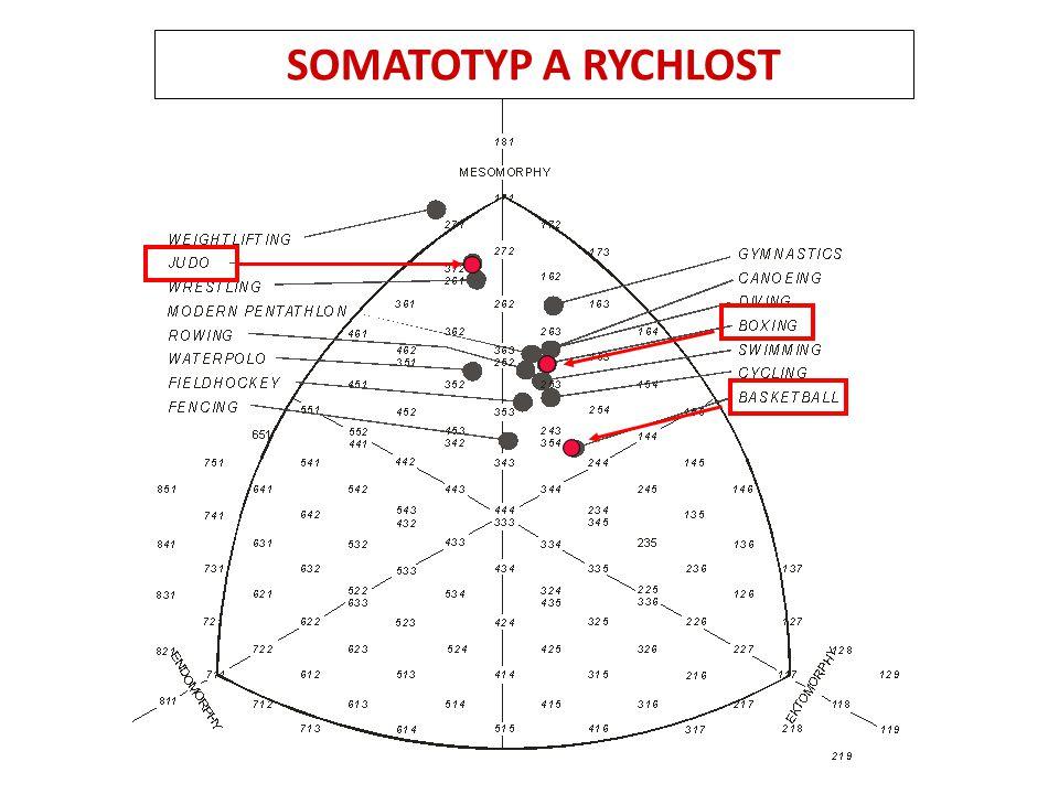 SOMATOTYP A RYCHLOST
