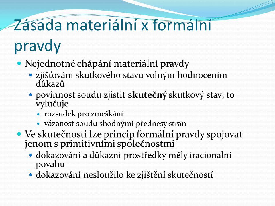 Zásada materiální x formální pravdy