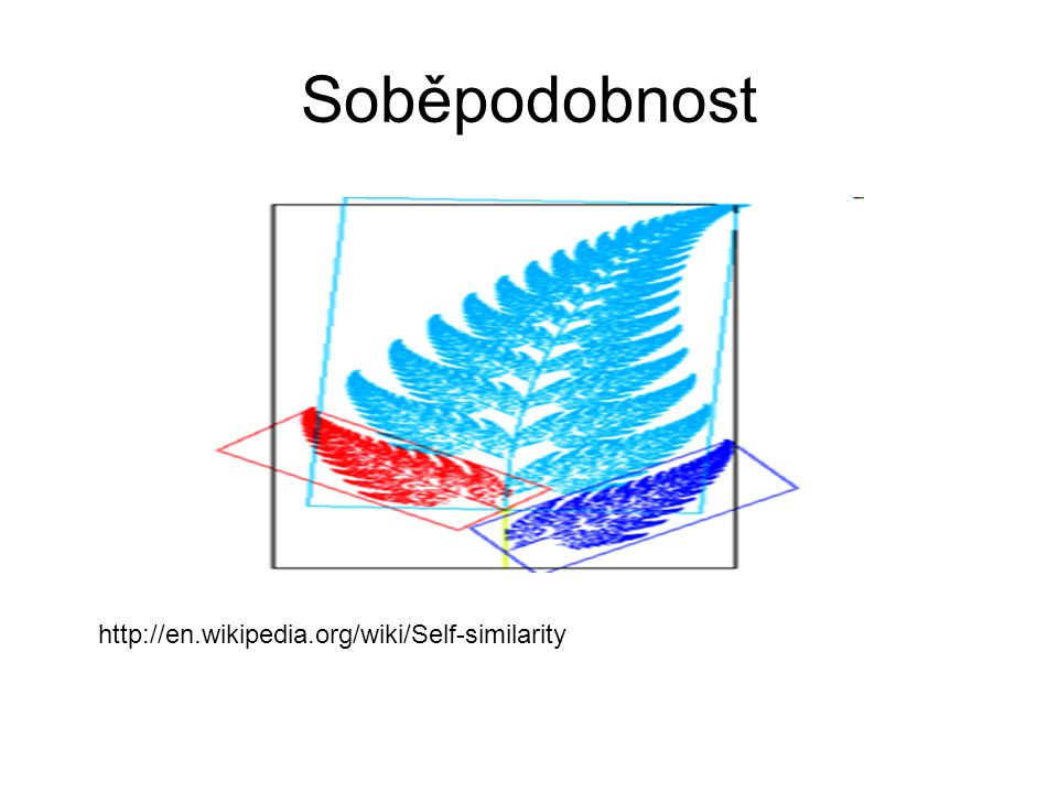 Soběpodobnost http://en.wikipedia.org/wiki/Self-similarity