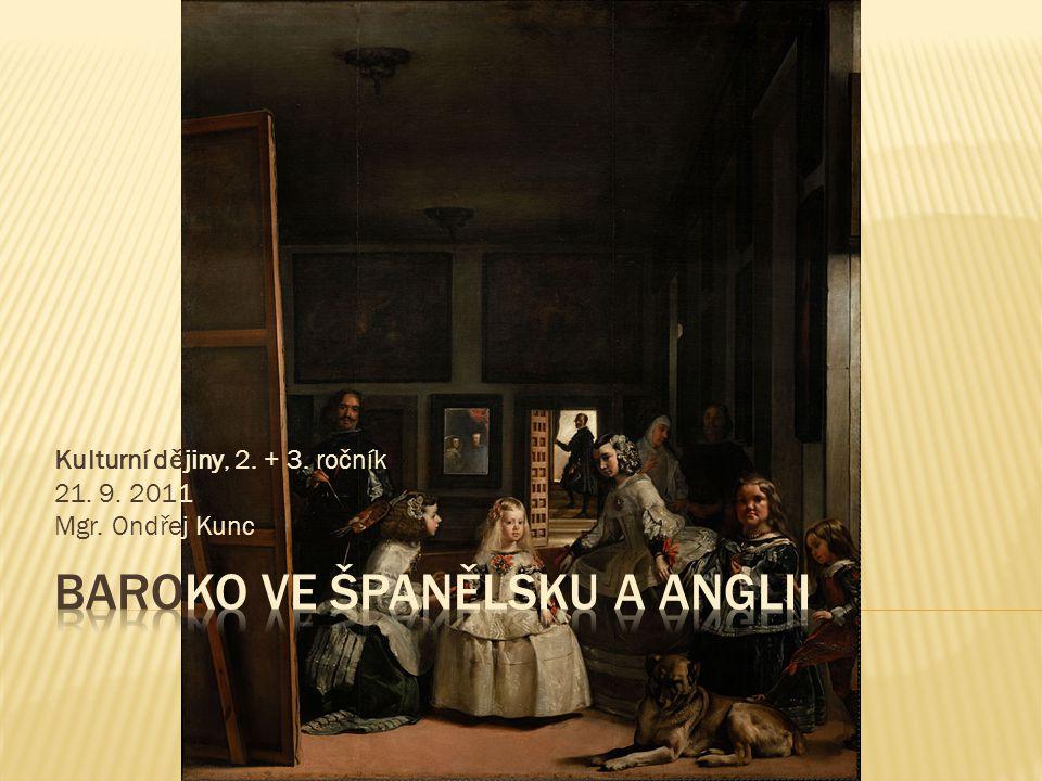 Baroko ve Španělsku a Anglii