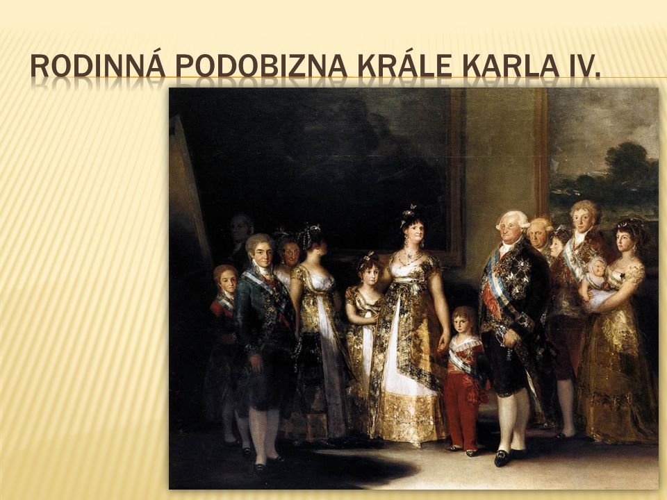 Rodinná podobizna krále Karla IV.