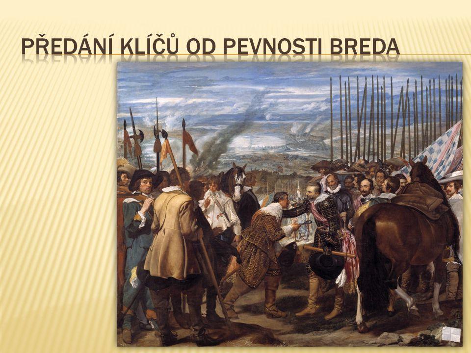 Předání klíčů od pevnosti Breda