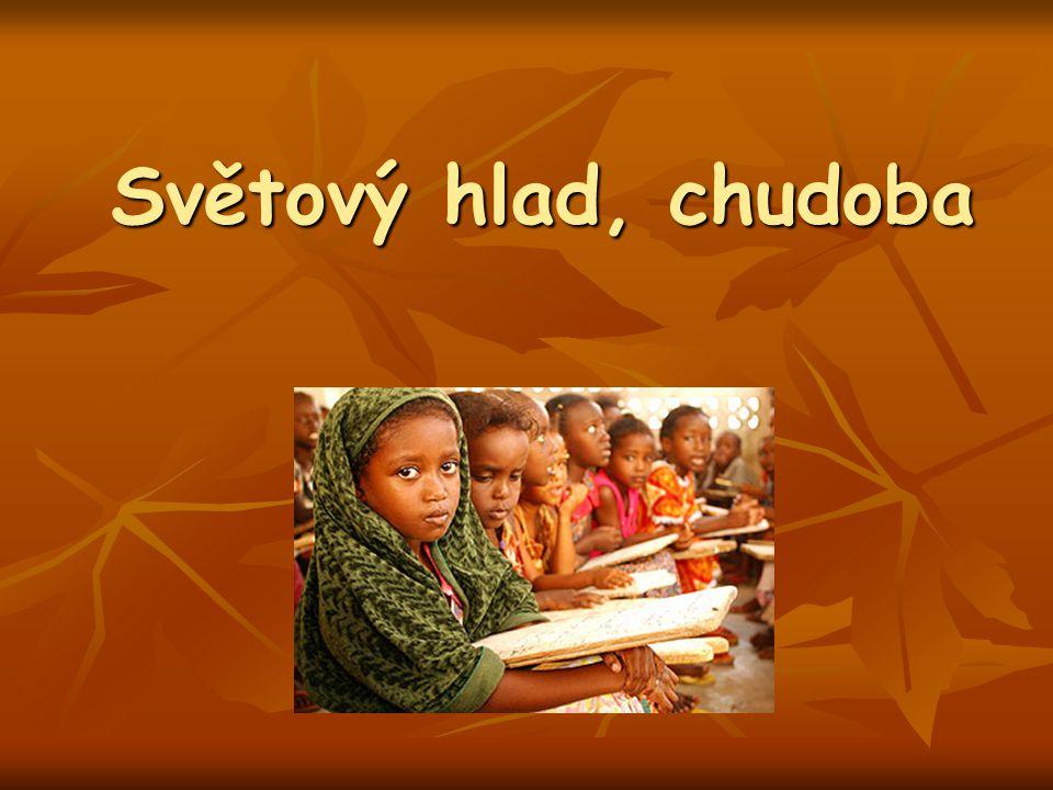 Světový hlad, chudoba