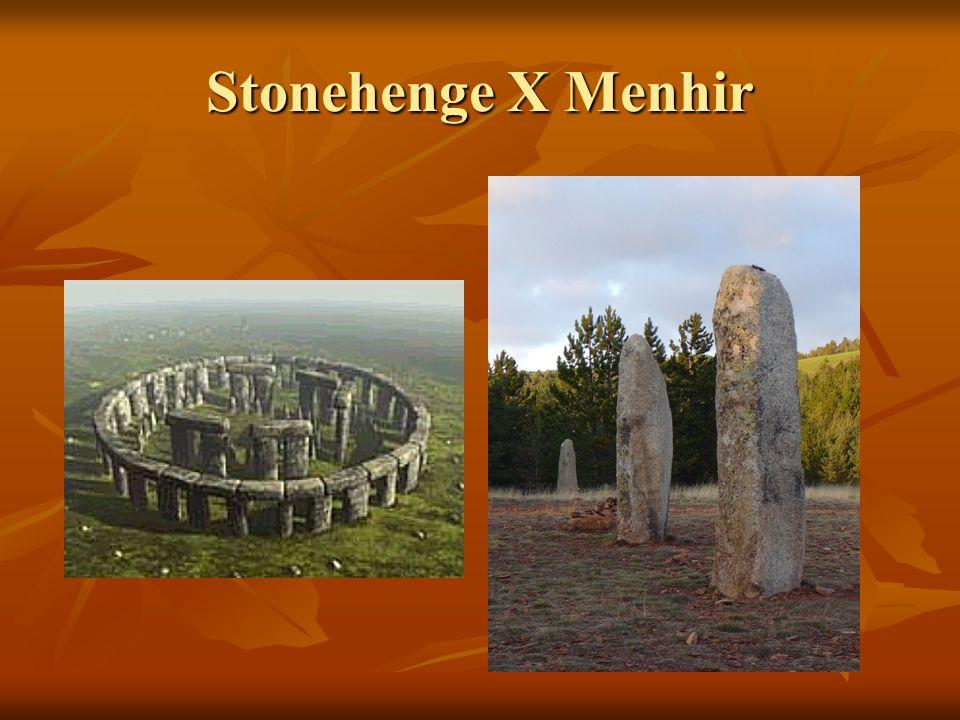 Stonehenge X Menhir