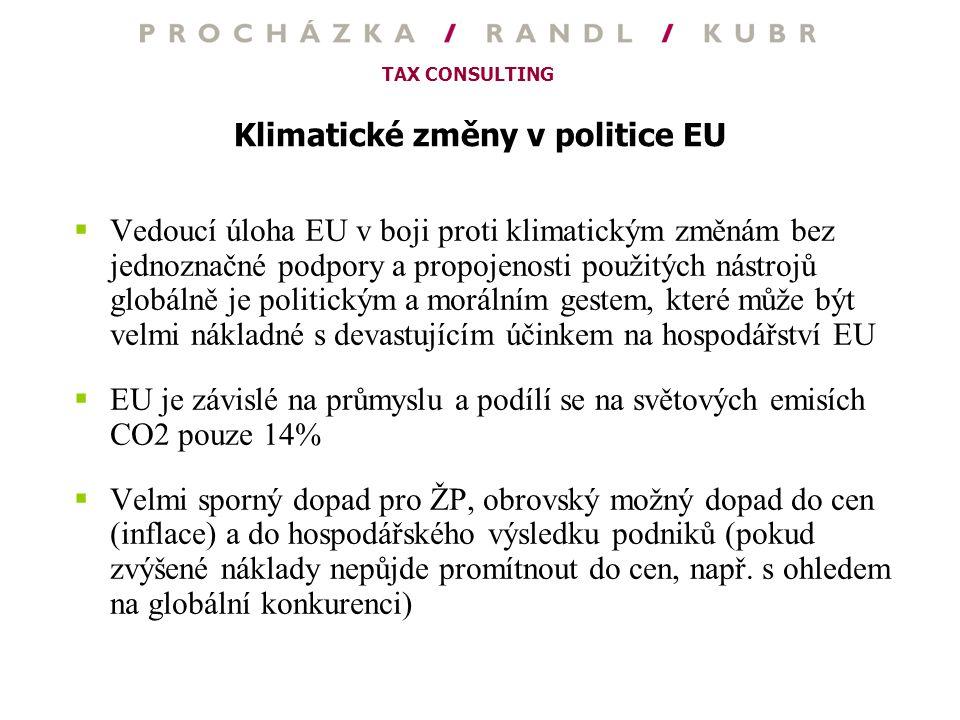 Klimatické změny v politice EU