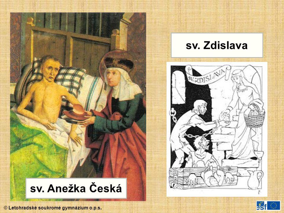 sv. Zdislava sv. Anežka Česká