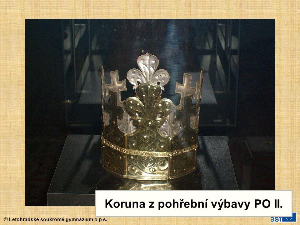 Koruna z pohřební výbavy PO II.