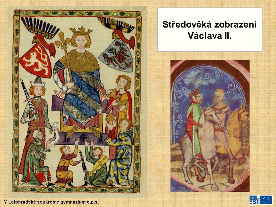 Středověká zobrazení Václava II.