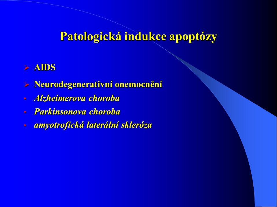 Patologická indukce apoptózy