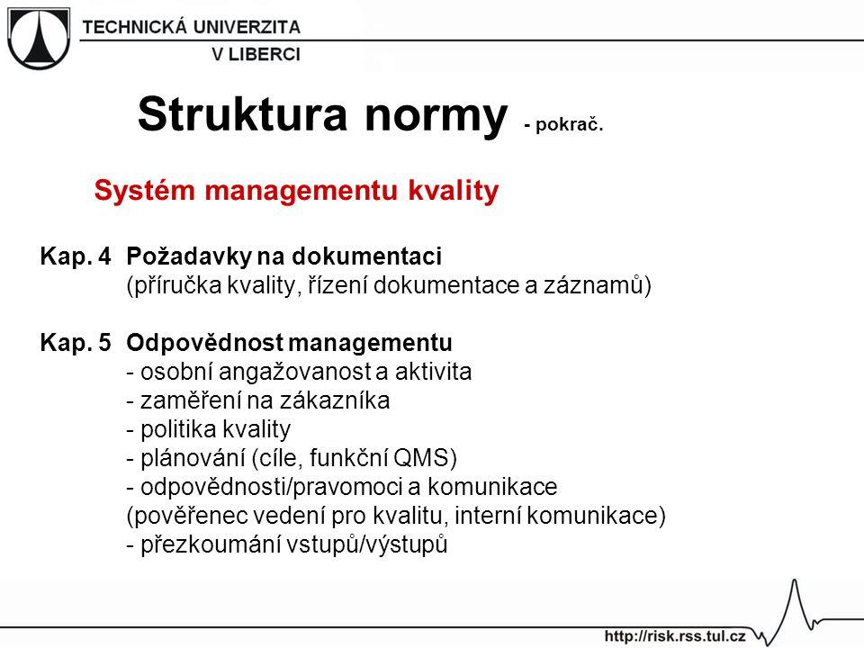 Struktura normy - pokrač.