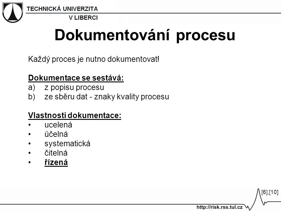 Dokumentování procesu