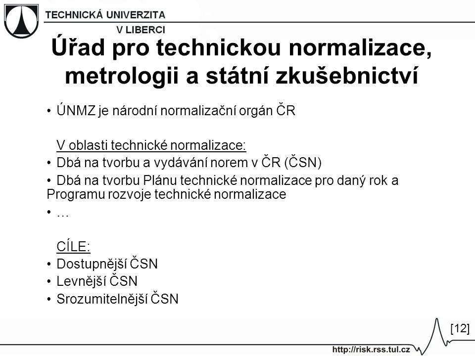 Úřad pro technickou normalizace, metrologii a státní zkušebnictví