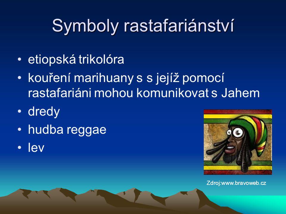 Symboly rastafariánství