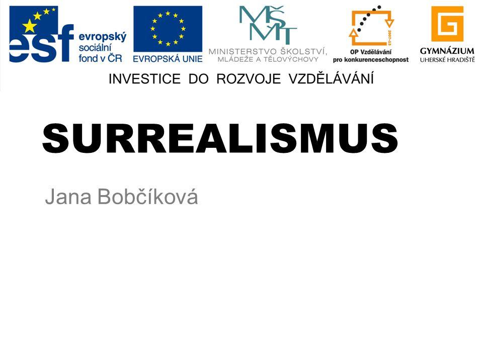 SURREALISMUS Jana Bobčíková