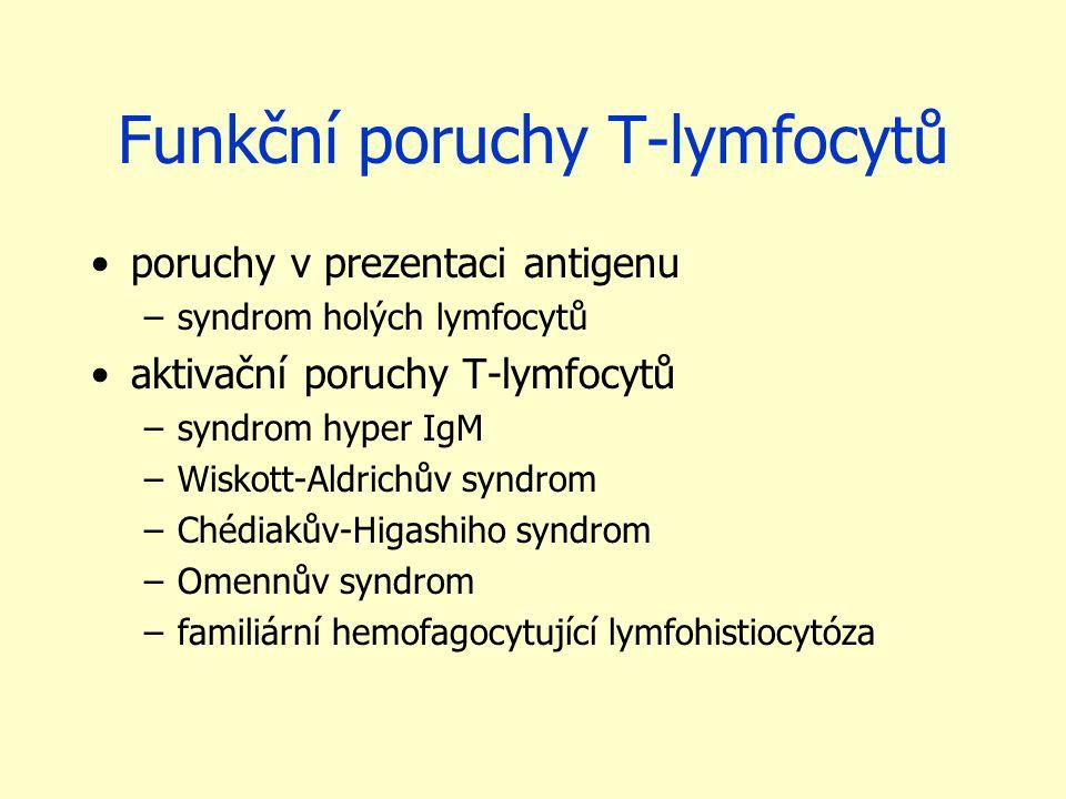 Funkční poruchy T-lymfocytů