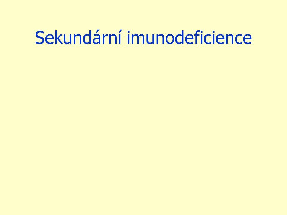 Sekundární imunodeficience