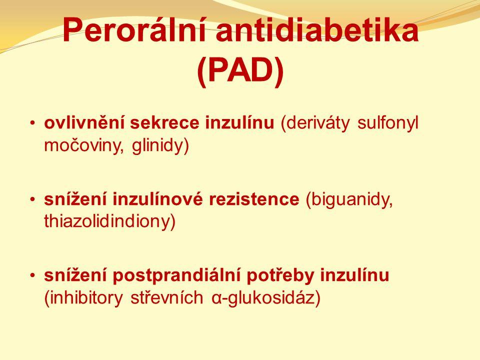 Perorální antidiabetika (PAD)
