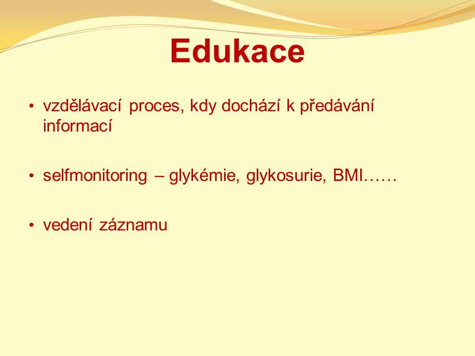 Edukace vzdělávací proces, kdy dochází k předávání informací