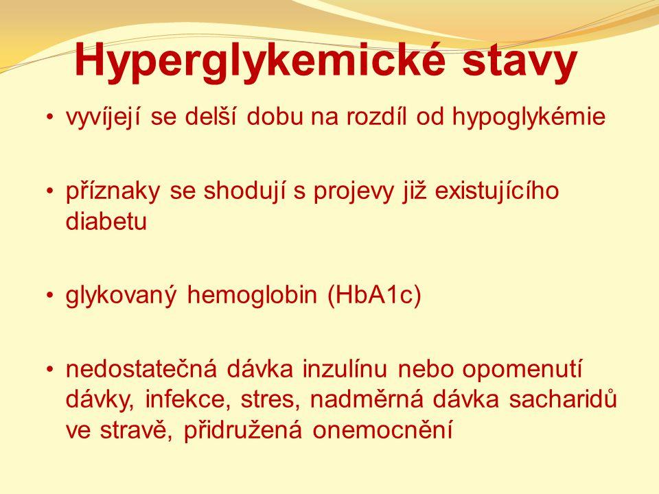 Hyperglykemické stavy