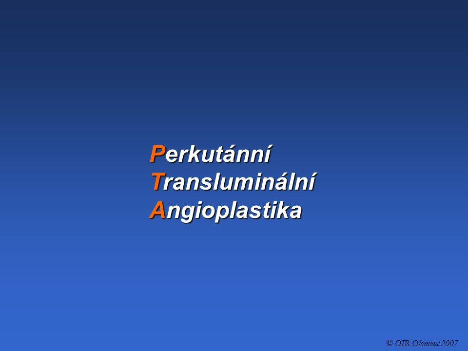 Perkutánní Transluminální Angioplastika
