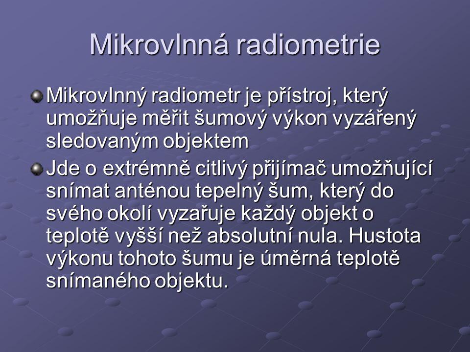 Mikrovlnná radiometrie