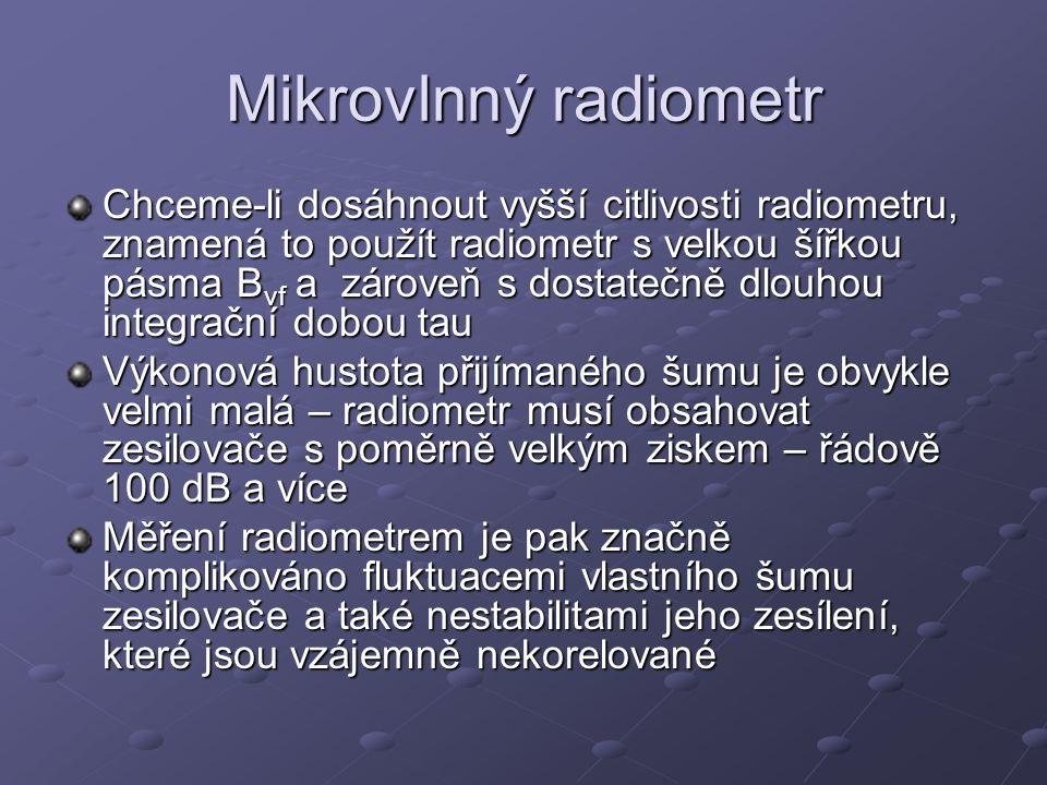 Mikrovlnný radiometr