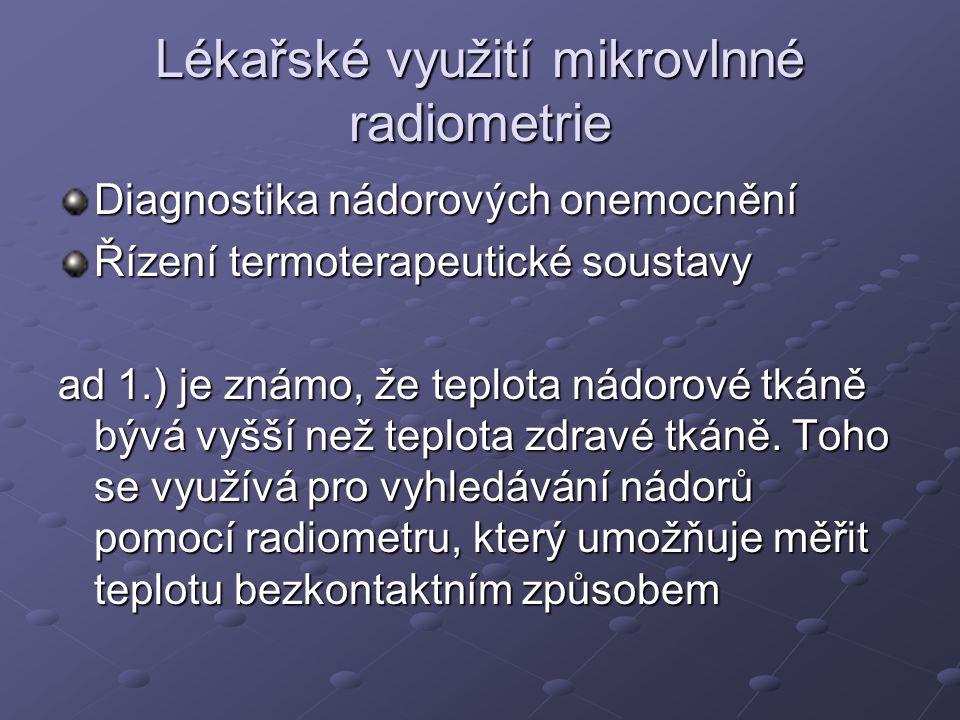 Lékařské využití mikrovlnné radiometrie