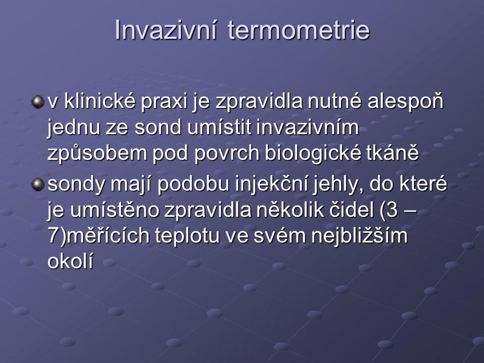 Invazivní termometrie