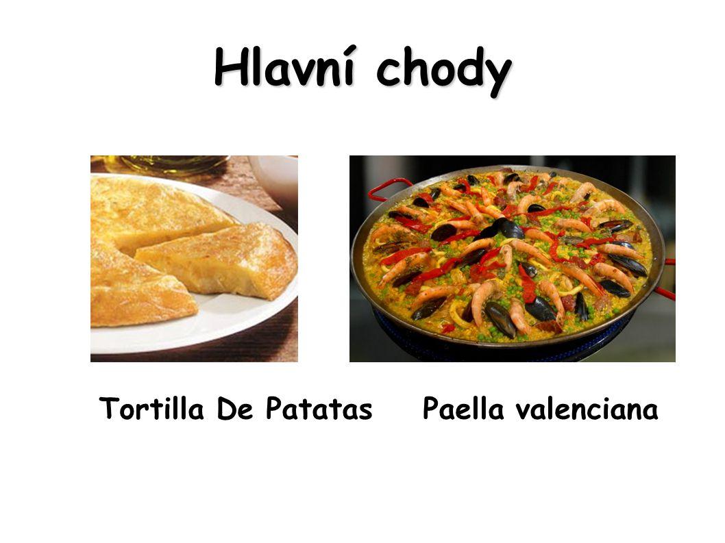 Tortilla De Patatas Paella valenciana