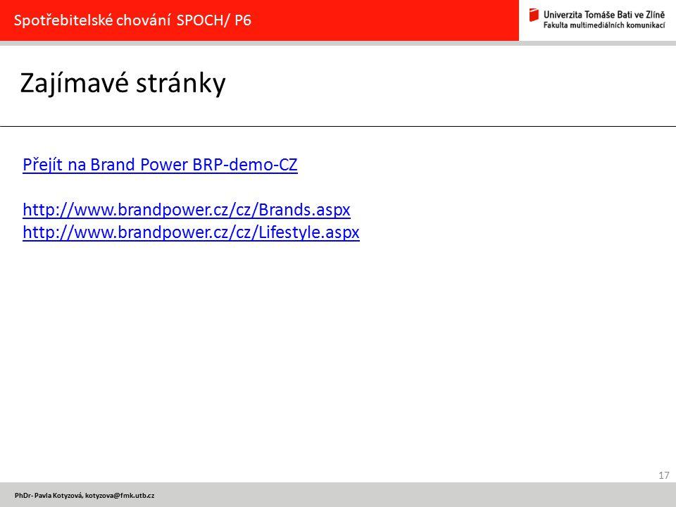Zajímavé stránky Přejít na Brand Power BRP-demo-CZ