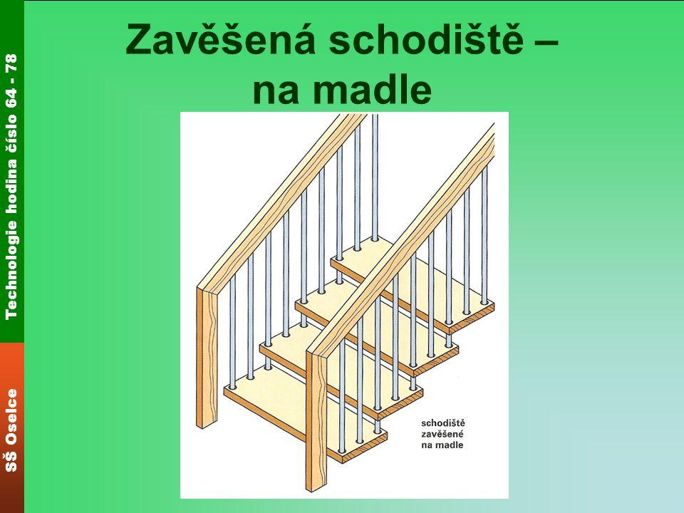 Zavěšená schodiště – na madle