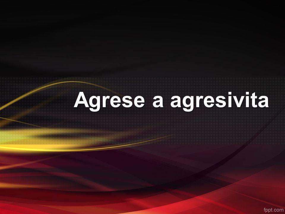 Agrese a agresivita