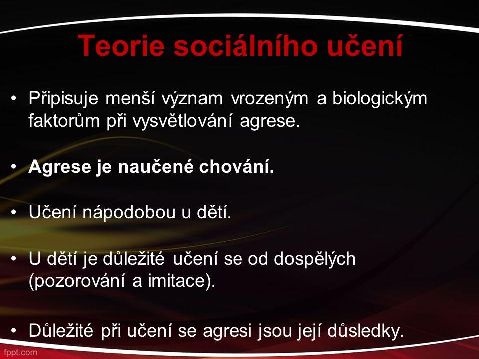 Teorie sociálního učení