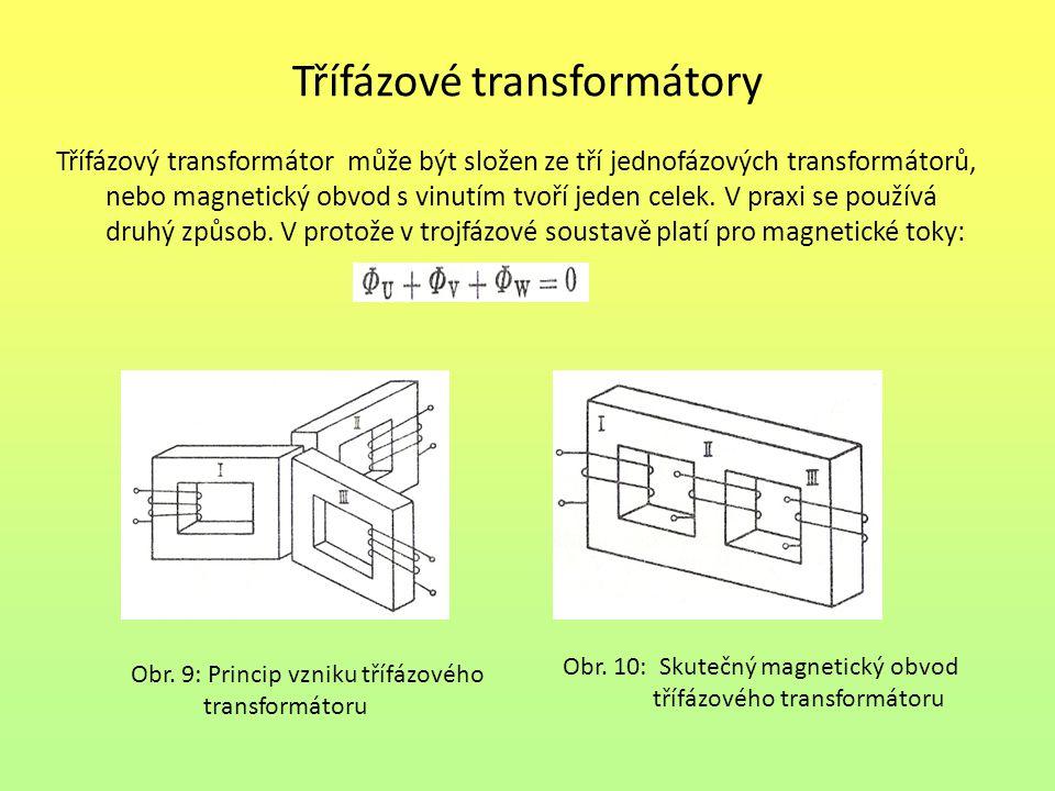 Třífázové transformátory