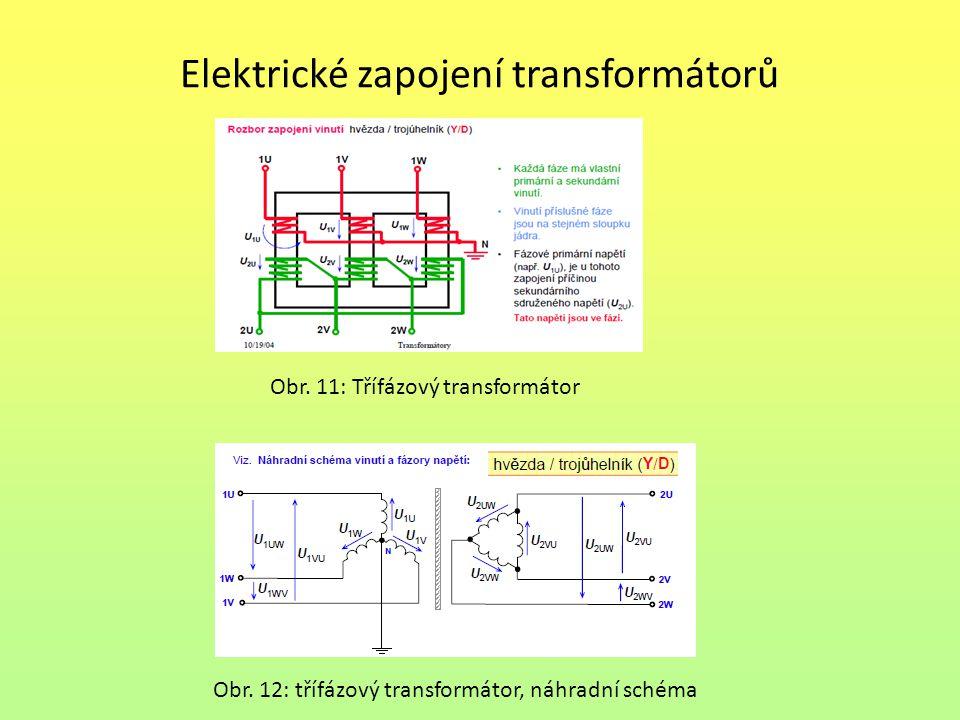 Elektrické zapojení transformátorů