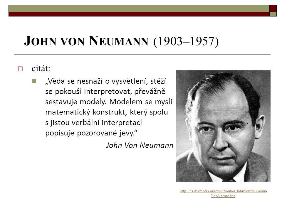 John von Neumann (1903–1957) citát:
