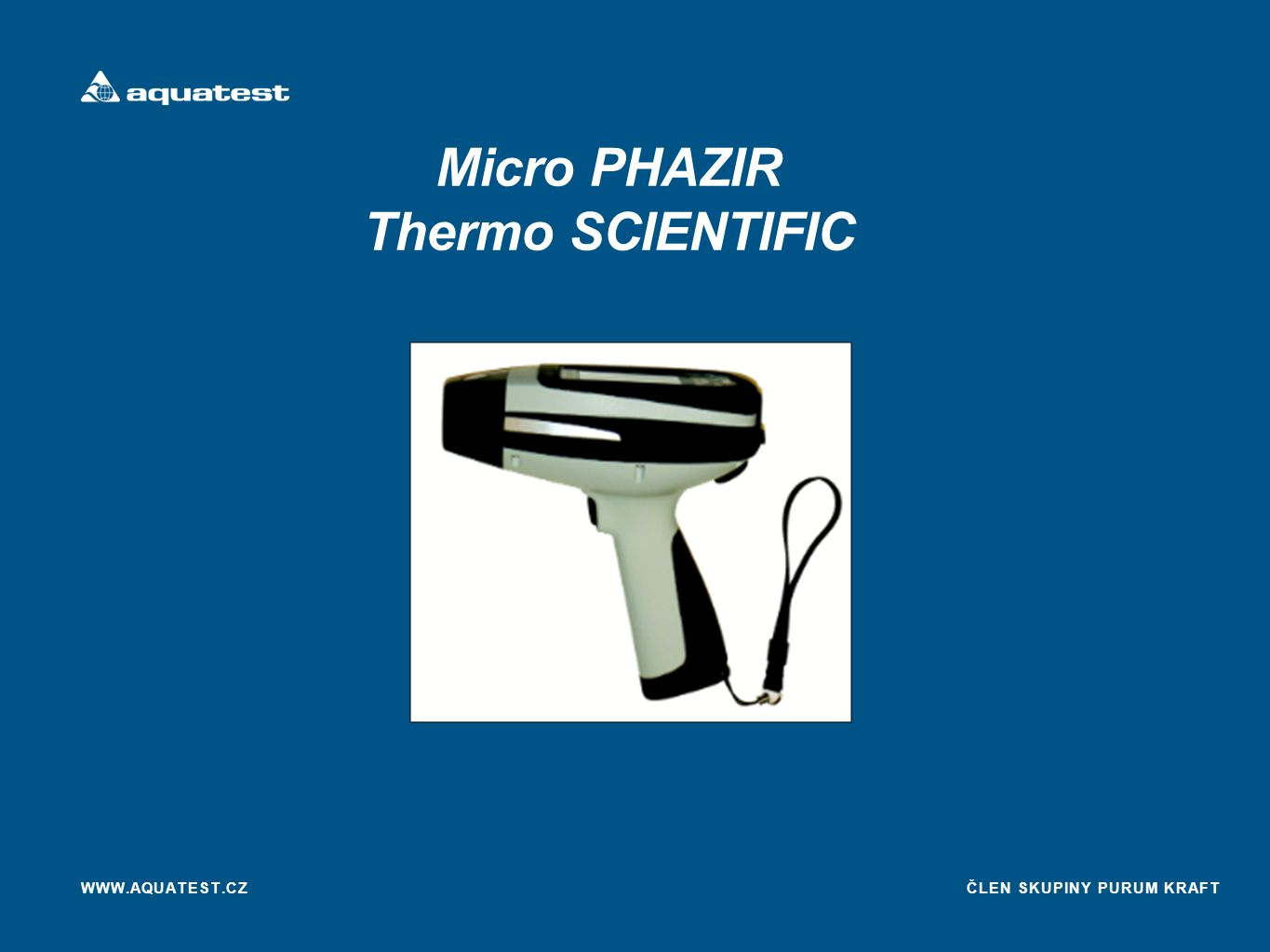 Micro PHAZIR Thermo SCIENTIFIC