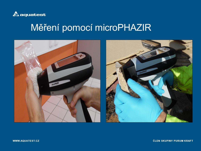 Měření pomocí microPHAZIR
