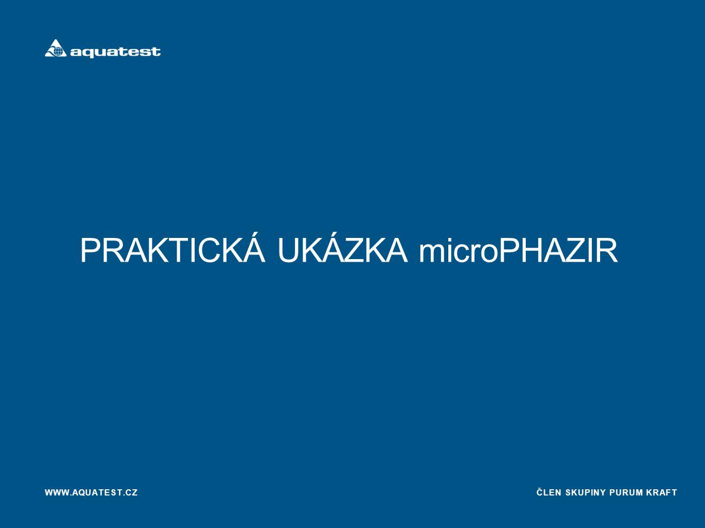 PRAKTICKÁ UKÁZKA microPHAZIR