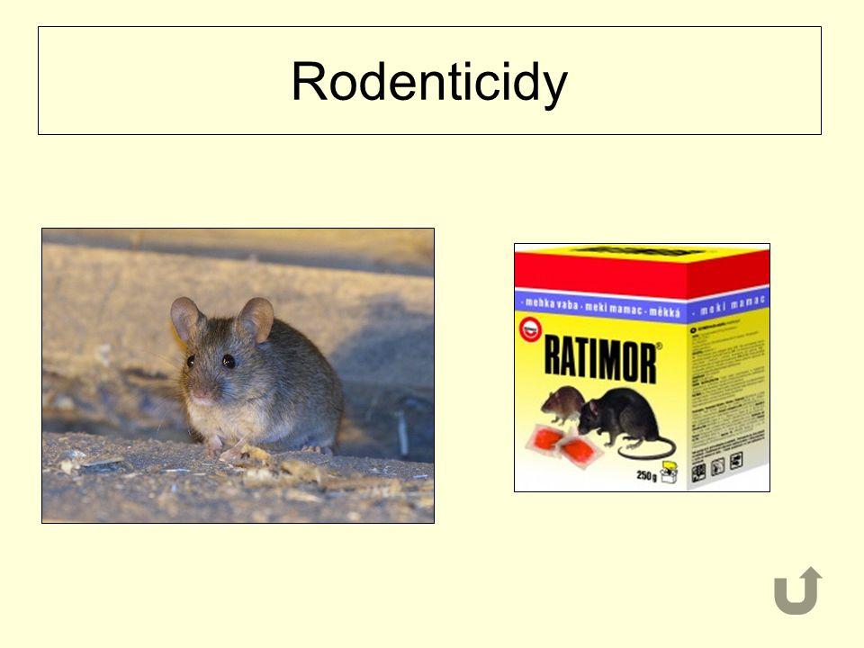 Rodenticidy