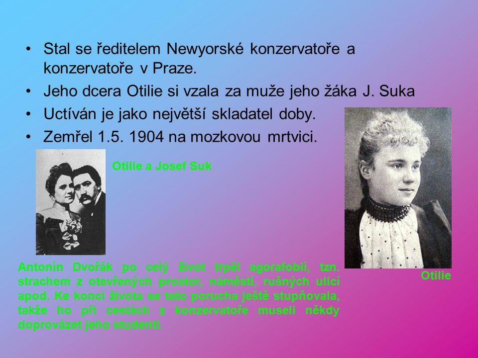 Stal se ředitelem Newyorské konzervatoře a konzervatoře v Praze.