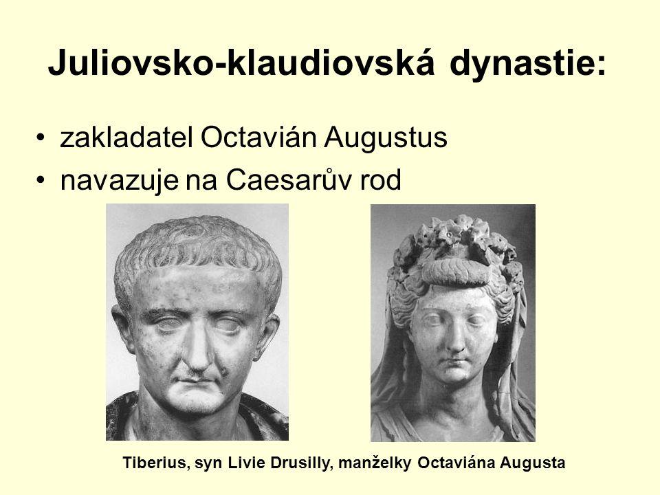 Juliovsko-klaudiovská dynastie: