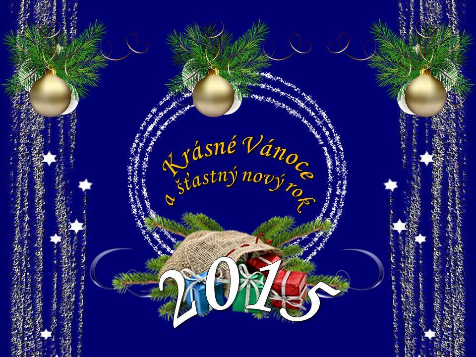 Krásné Vánoce a šťastný nový rok 2015