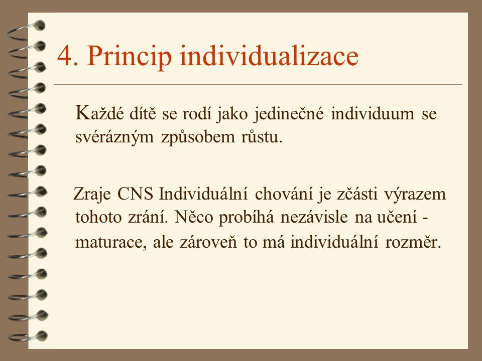 4. Princip individualizace