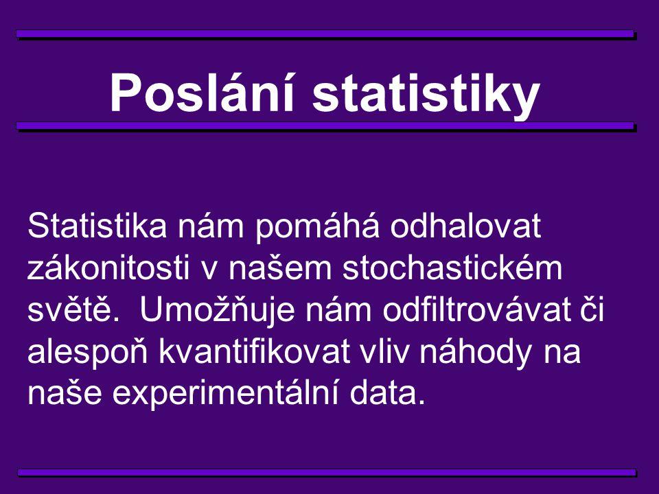 Poslání statistiky