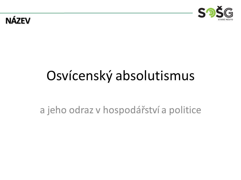 Osvícenský absolutismus